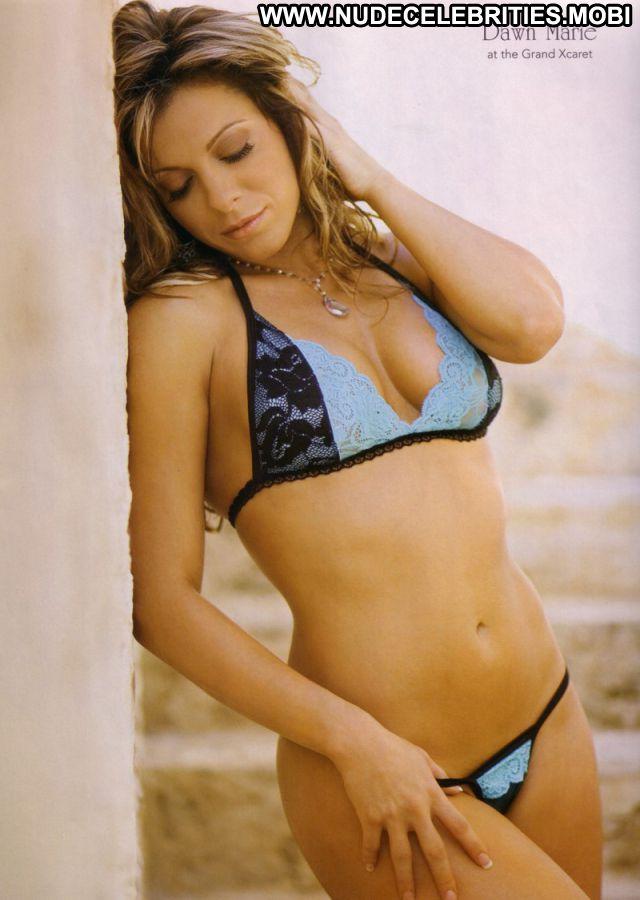 Dawn Marie Posing Hot Cute Bikini Celebrity Babe Big Ass Nude Ass