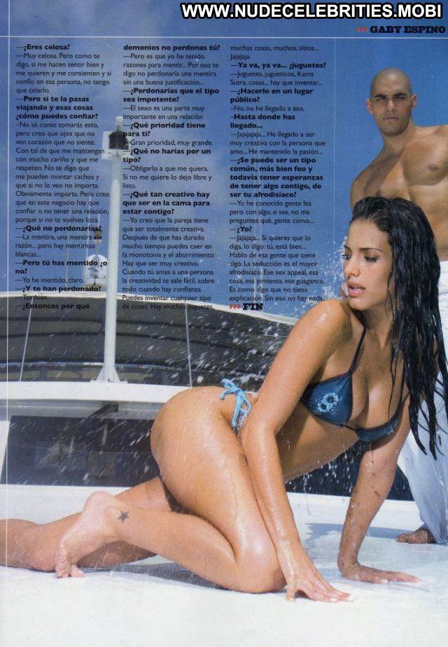 Gaby Espino Venezuelan Latina Bikini Celebrity Posing Hot