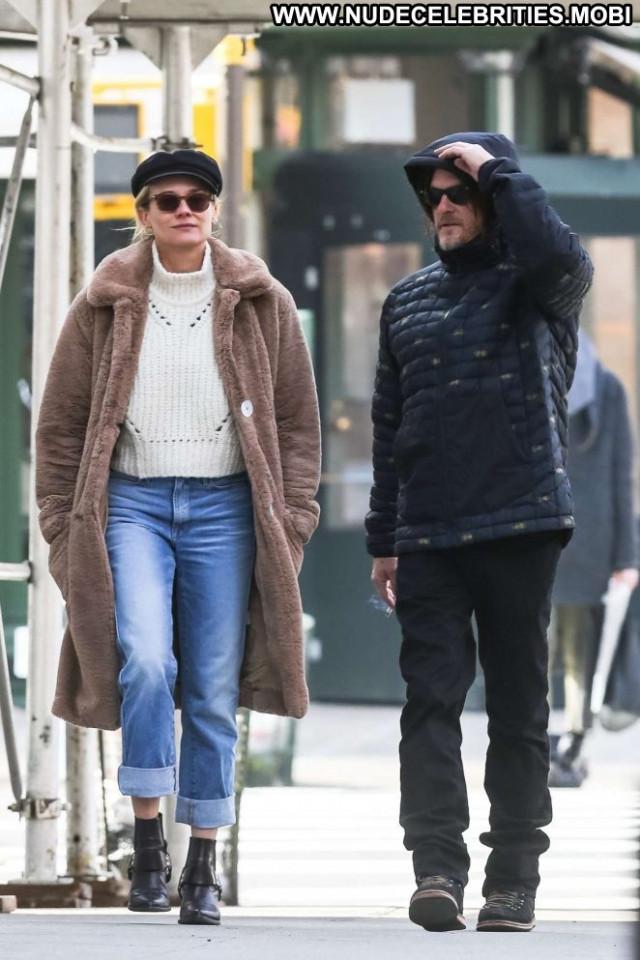 Diane Kruger New York Paparazzi Beautiful New York Babe Celebrity