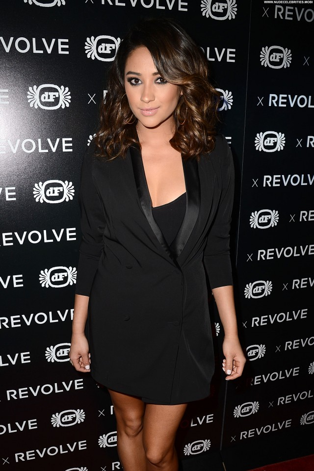 Shay Mitchell Anniversary Party Celebrity Beautiful Posing Hot High