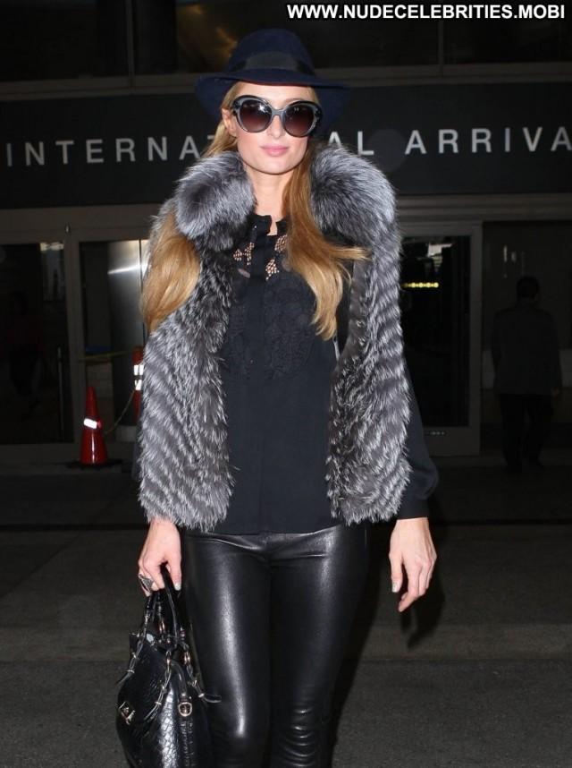 Paris Hilton Lax Airport Beautiful Lax Airport Paris Babe Posing Hot
