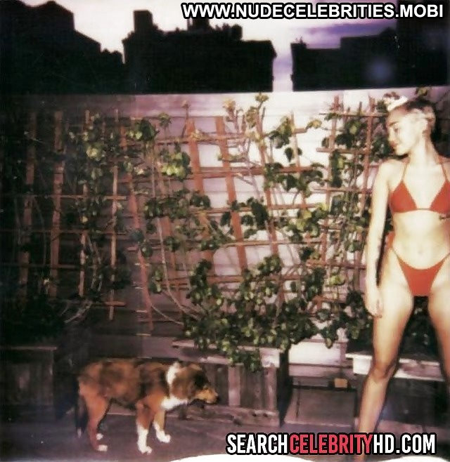 Miley Cyrus Pictures Celebrity Blonde Magazine Flashing Cute