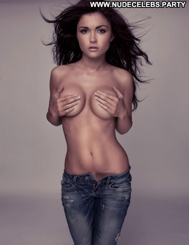 India Reynolds Photo Shoot British Celebrity Topless Brunettes Big