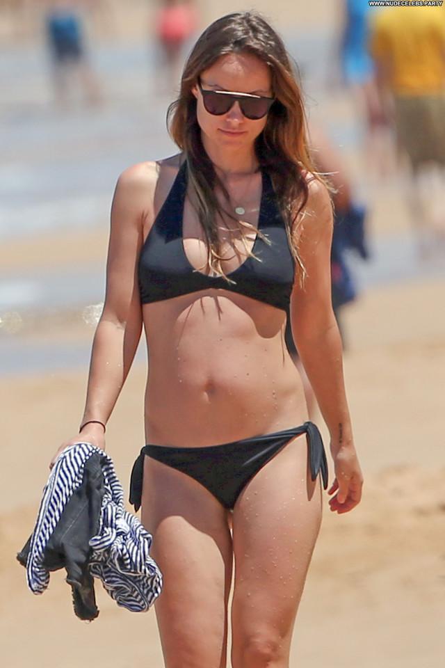 Olivia Wilde Beach Hawaii Babe Beautiful Posing Hot Celebrity Cute