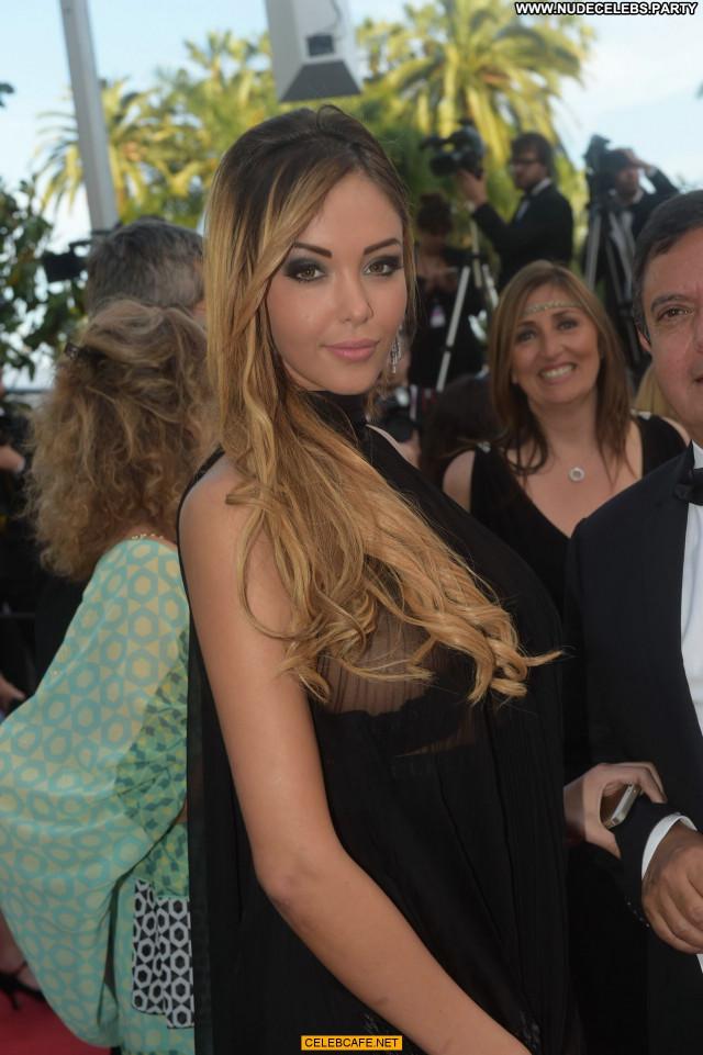 Nabilla Benattia Cannes Film Festival Wardrobe Malfunction Babe
