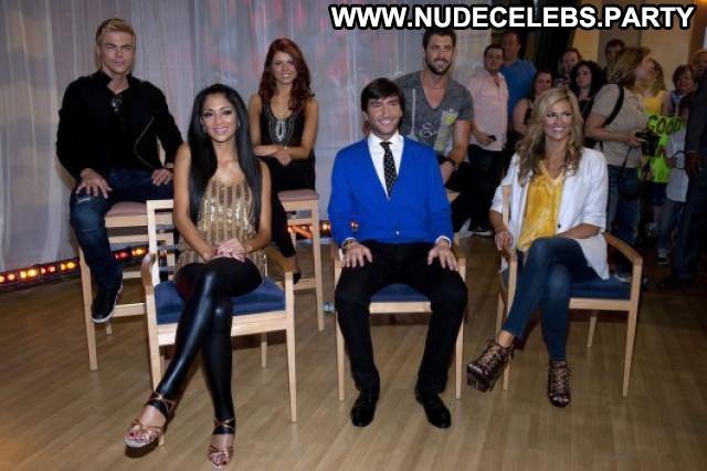 Nicole Scherzinger Good Morning America Beautiful Posing Hot Pants