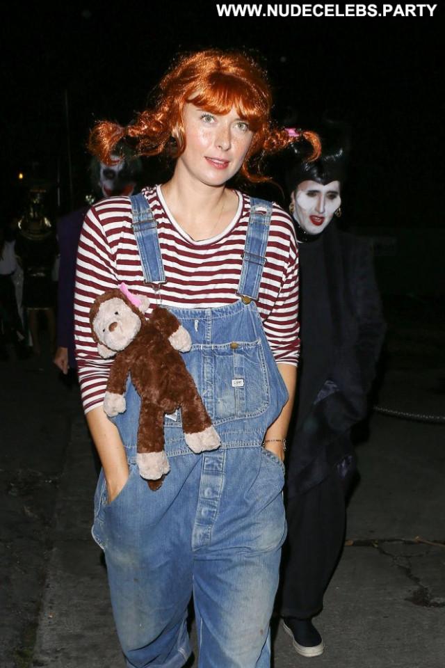 Maria Sharapova Halloween Party Halloween Babe Posing Hot Paparazzi