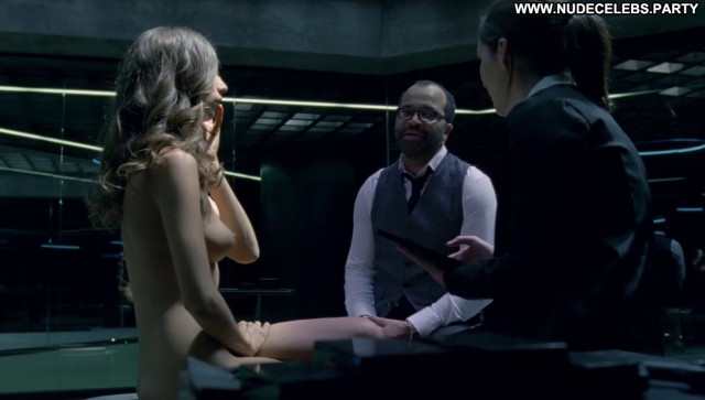 Angela Sarafyan Westworld Female Topless Beautiful Celebrity Boobs