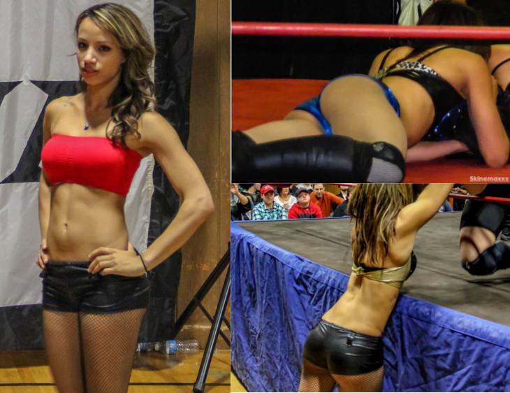 Sasha Banks Hot Pre WWE Indy Photos (Mercedes Kaestner-Varnado)