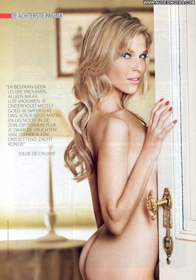 Sylvie De Caluwe De Rode Loper Nice Cute Medium Tits Sultry Blonde
