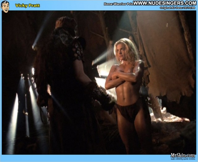 Victoria Pratt Xena Warrior Princess Athletic Sultry Celebrity Blonde