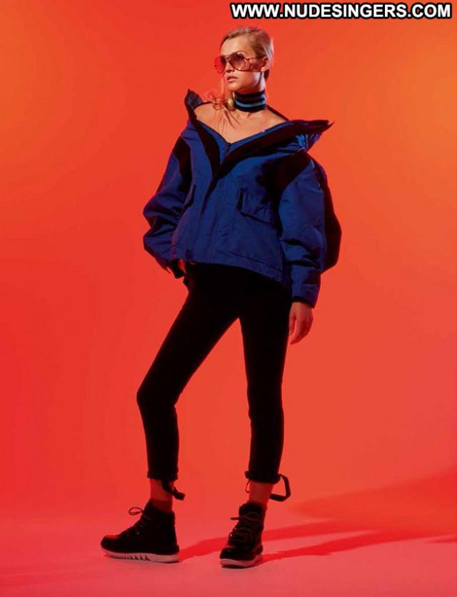 Toni Garrn Babe Beautiful Celebrity Posing Hot German See Through