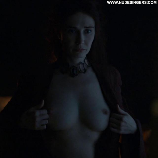 Carice Van Houten Game Of Thrones Sea Breasts Fantasy Babe Floor