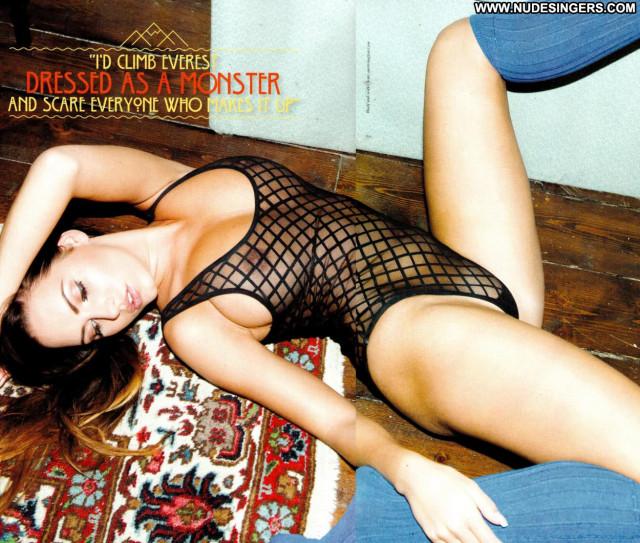 Sabine Jemeljanova Front Magazine Old Hot Beautiful Model Photo Shoot