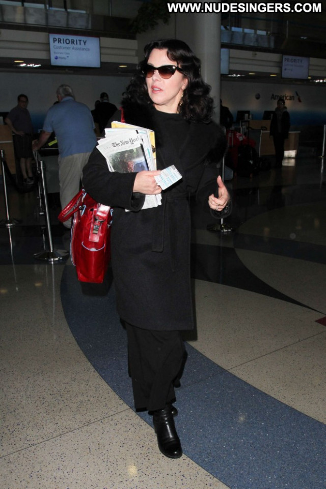 Debi Mazar Los Angeles International Babe Beautiful Paparazzi
