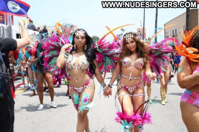 Melissa Molinaro No Source Carnival Babe Car Posing Hot Celebrity