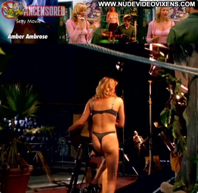 Amber Ambrose Sexy Movie Beautiful Celebrity Cute Blonde Medium Tits