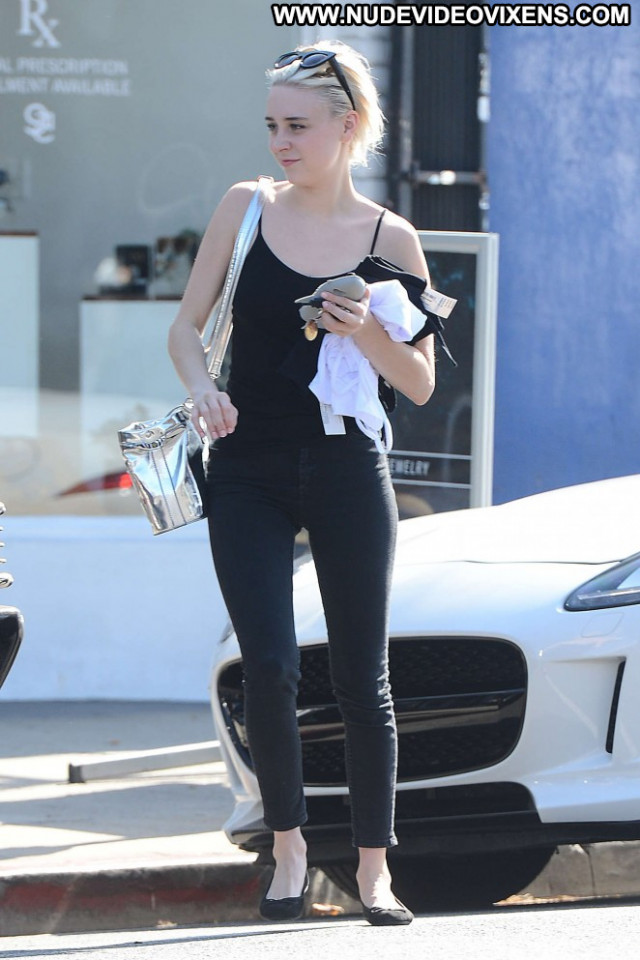 Alessandra Torresani Los Angeles Posing Hot Babe Angel Paparazzi