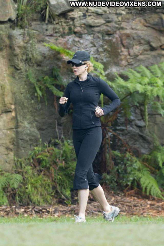 Nicole Kidman Posing Hot Beautiful Celebrity Jogging Paparazzi Babe