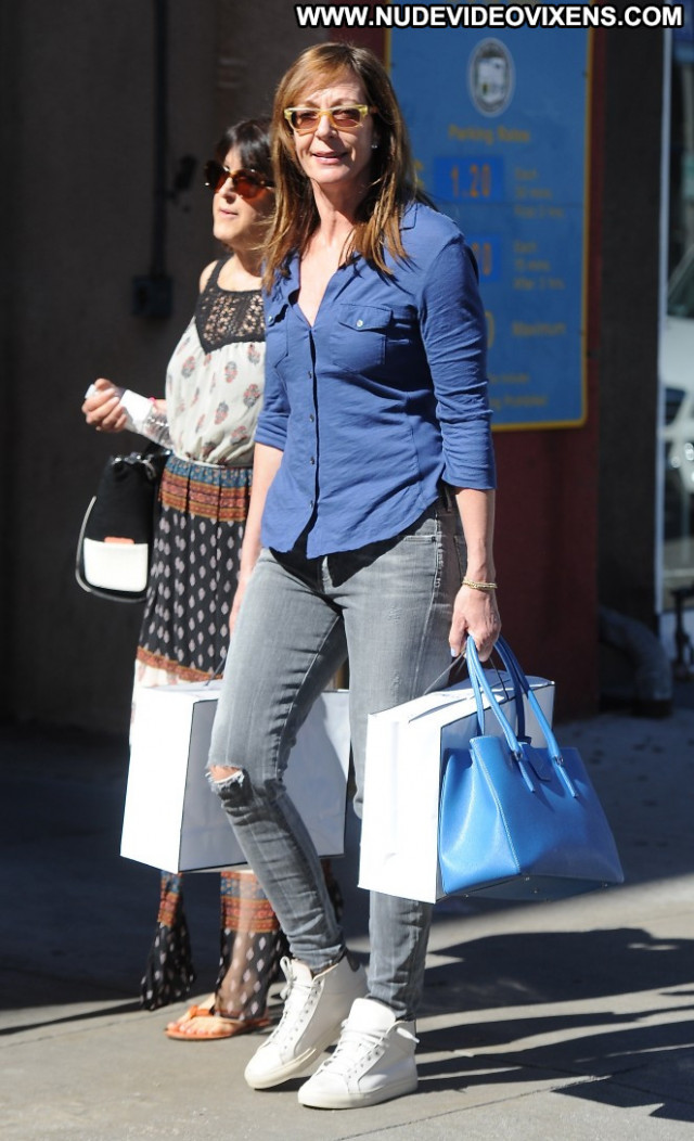 Allison Janney Los Angeles Babe Angel Paparazzi Los Angeles Celebrity