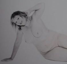 Nudist model