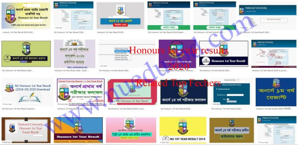 Honours 1st year Result 2020 related feature image info