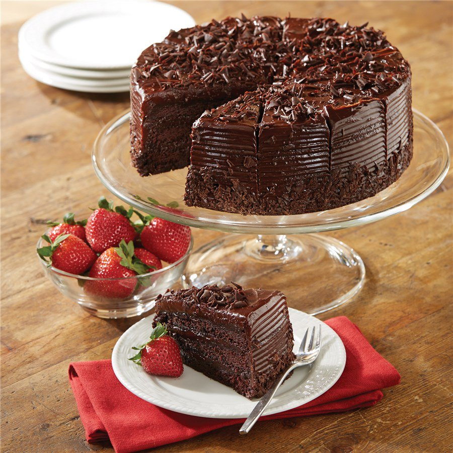 Belgian Dark Chocolate Fudge Cake Desserts Nueske S