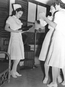 Nurses Dancing during World War II