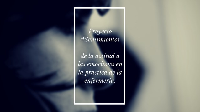 Proyecto #Sentimientosis sitting on the other side of fear.