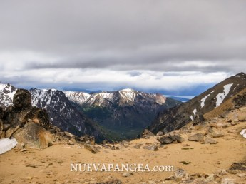 Vista hacia el Oeste desde el Cerro Catedral, Bariloche