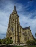 Catedral de Bariloche, otra obra del Arq. Bustillo