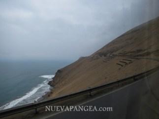 Ruta Panamericana de Lima Hacia el norte, camino a Huaráz