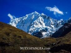 Durante todo el trekking se pueden admirar nevados