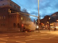 A veces los autos se prenden fuego
