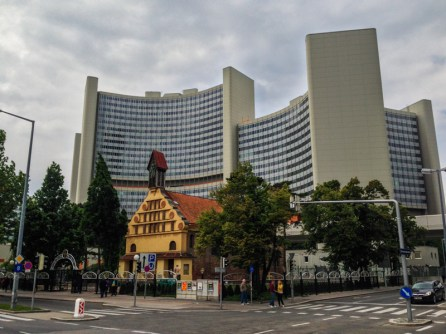 Uno City, hogar de varios organismos de las Naciones Unidas