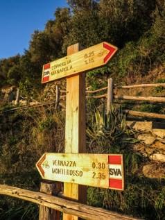Los senderos están bien señalizados y son relativamente fáciles de recorrer