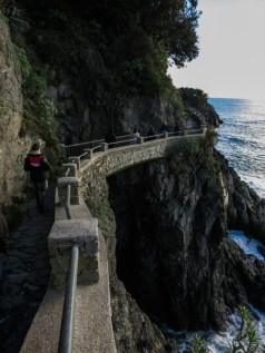 Los senderos entre los pueblos siempre ofreciendo vistas espectaculares
