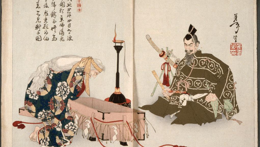 Dibujo sobre Rashomon © Wiki Commons