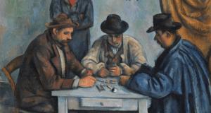 Jugadores de cartas, de Cezanne. © Shutterstock