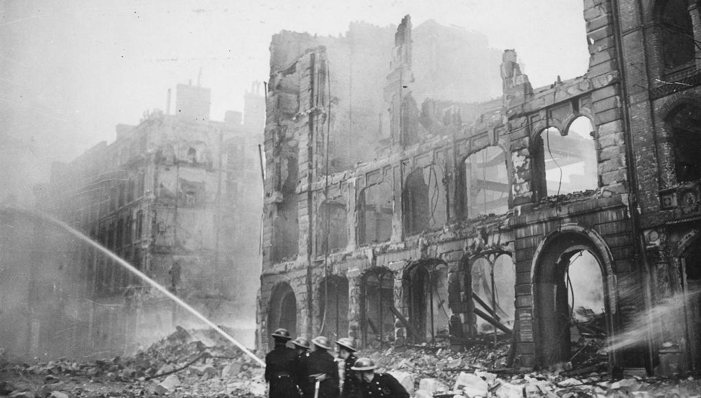 Londres bombardeada © WikiCommons