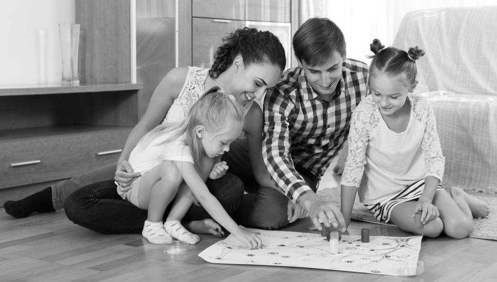 Familia de clase media norteamericana. © Wiki Commons