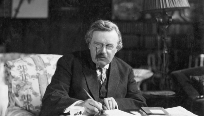 G.K. Chesterton © Wiki Commons