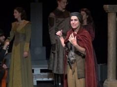 La obra. representada por actores la compañía de Teatro Lucía. Foto: José Mº Visiers.