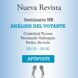 Análisis del votante: Cristóbal Torres, Fernando Vallespín, Pedro Arriola