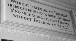 Franklin y la libertad de opinión. Foto: © WC