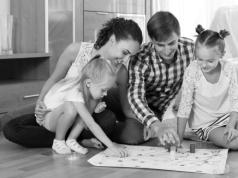 Familia de clase media en EE.UU. © WikiCommons