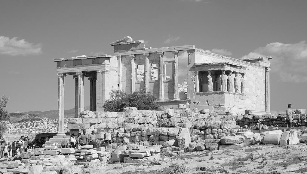 Templo de Atenea. © Wikipedia