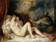 Danae, pintura de Tiziano. ©. Museo del Prado