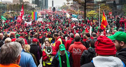 Foto: Confederación Sindical Internacional (CSI)