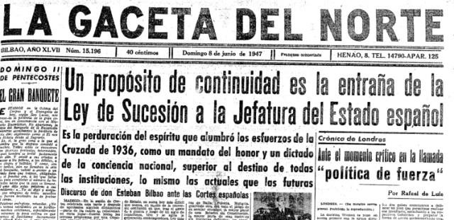 gaceta norte 8 junio 1947